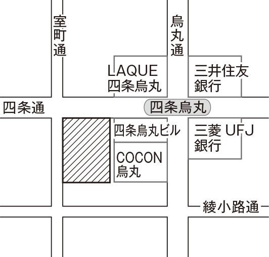 京都市下京区四条通室町東入函谷鉾町78番地京都経済センター420